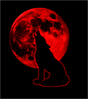 Red Wolf Moon