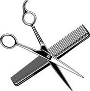 scissors-comb