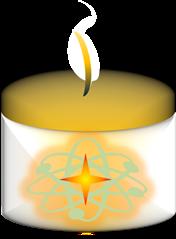 Positivity Candle