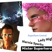Superhero Tales and More Links Galore!